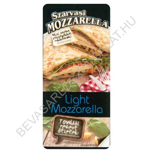 Szarvasi Light Mozzarella Sajt szeletelt védőgázas 100 g