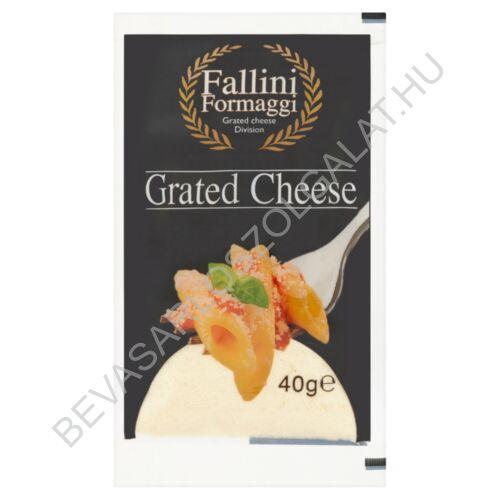 Fallini Grated Cheese Parmezán Jellegű Sajt Reszelt, zacskós 40 g