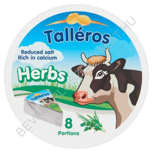 Talléros Körcikkelyes Sajt Zöldfűszeres 140 g