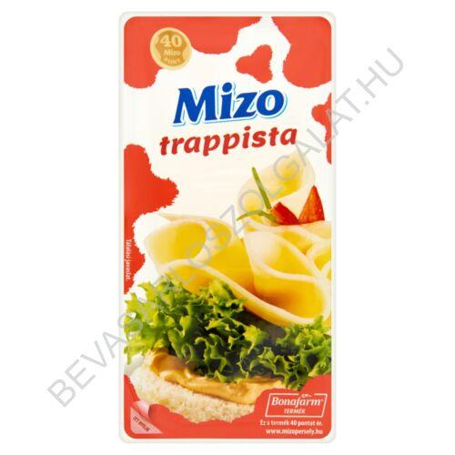 Mizo Trappista Sajt szeletelt, védőgázas 125 g (#12)