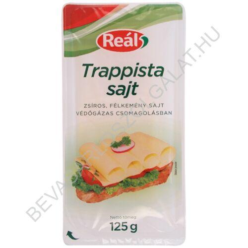 Reál Trappista Sajt szeletelt, védőgázas 125 g (#24)