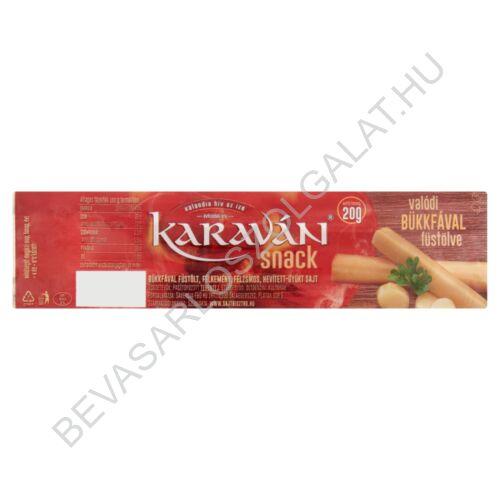 Karaván Snack füstölt, félkemény, félzsíros sajt 20 g (#30)