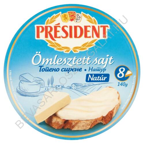 Président Körcikkelyes Sajt Natúr 140 g