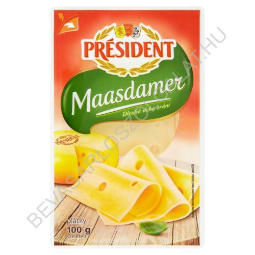 Président Szeletelt Sajt Maasdamer 100 g
