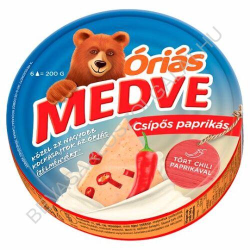 Medve Körcikkelyes Sajt Csípőspaprikás 200 g