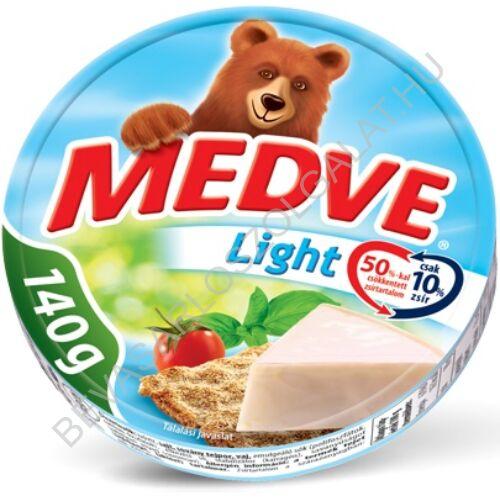 Medve Körcikkelyes Sajt Light 140 g