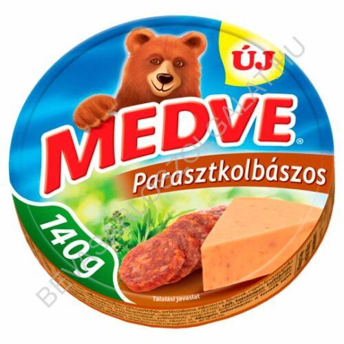 Medve Körcikkelyes Sajt Parasztkolbászos 140 g