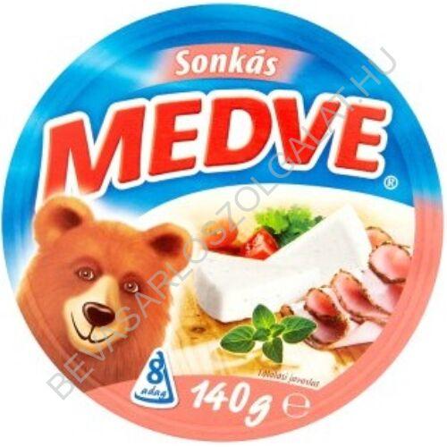 Medve Körcikkelyes Sajt Sonkás 140 g