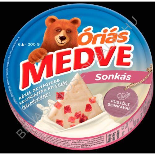 Medve Körcikkelyes Sajt Sonkás 200 g
