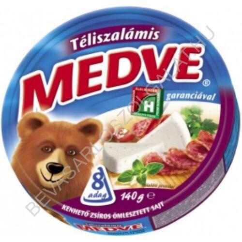 Medve Körcikkelyes Sajt Téliszalámis 140 g