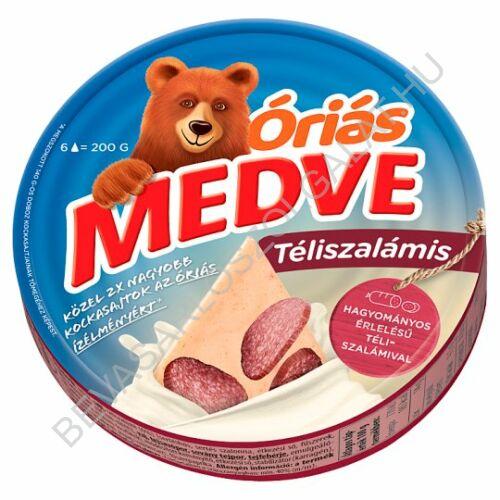 Medve Körcikkelyes Sajt Téliszalámis 200 g