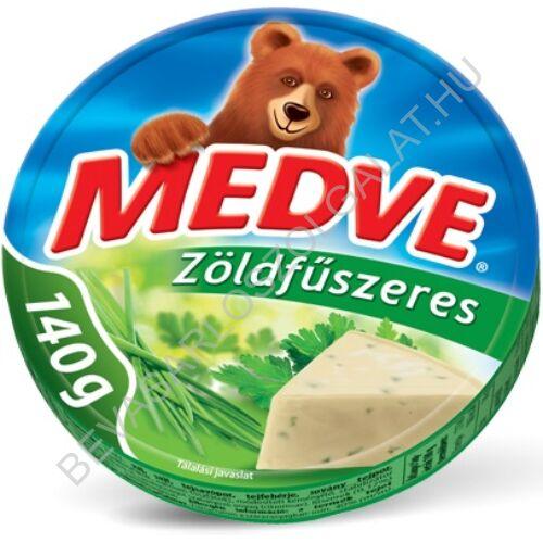 Medve Körcikkelyes Sajt Zöldfűszeres 140 g
