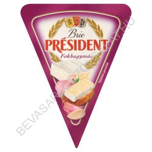 Président Brie Sajt Fokhagymás 125 g