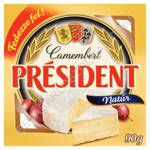 Président Camembert Sajt Natúr 90 g