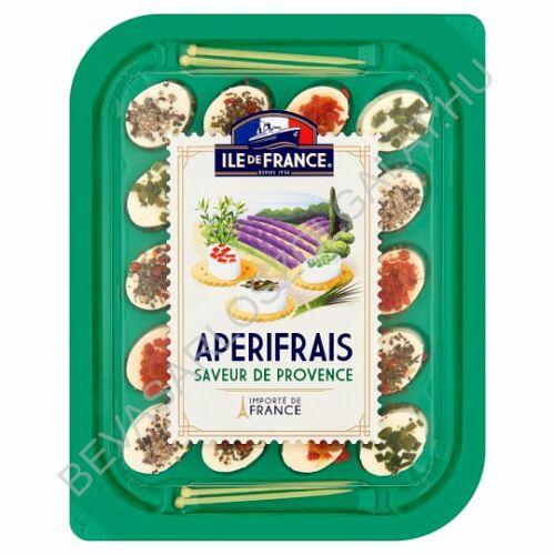 Ile de France Apérifrais Provence sajtspecialitás fűszerekkel, fűszernövényekkel 100 g