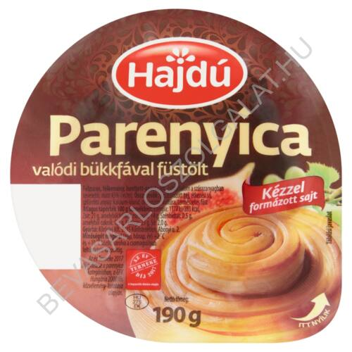 Hajdú Parenyica Kézműves Füstölt Sajt 190 g