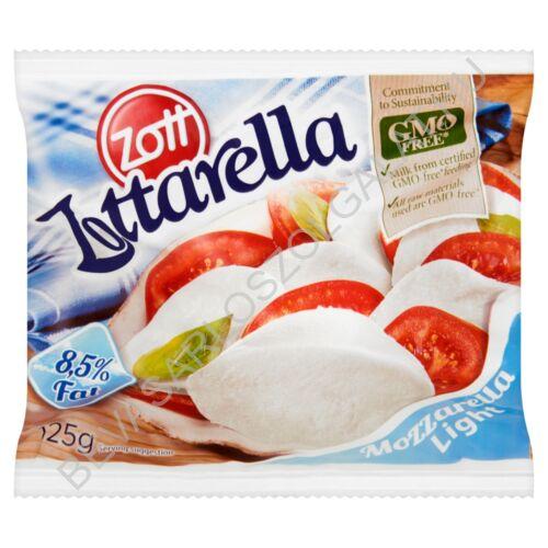 Zott Zottarella Light Mozzarella Sajt Lében zacskós 200/125 g (#10)