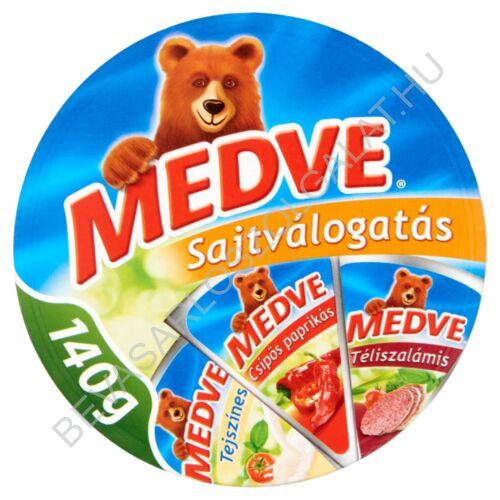 Medve Körcikkelyes Sajt Mix 140 g