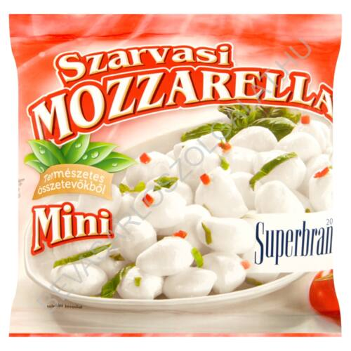 Szarvasi Mini Mozzarella Sajt Lében 200/100 g