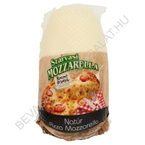 Szarvasi Pizza Mozzarella Tömbsajt Natúr ovális, hálós 1000 g