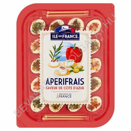 Ile de France Apérifrais Côte d'Azur sajtspecialitás fűszerekkel, fűszernövényekkel 100 g