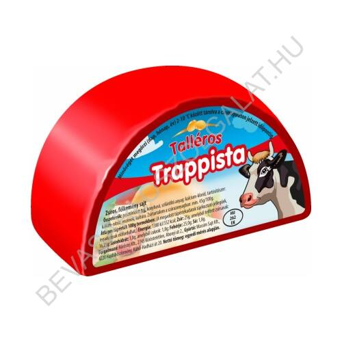 Talléros Trappista Sajt 650 g