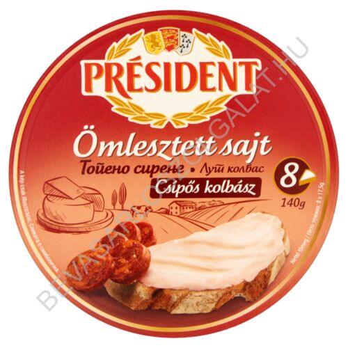 Président Körcikkelyes Sajt Csípős Kolbász 140 g