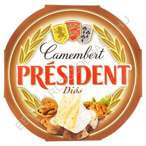 Président Camembert Sajt Diós 120 g