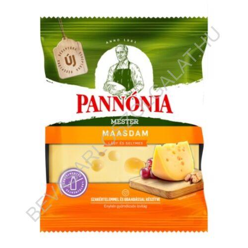 Pannónia Mester Maasdam darabolt, zsíros, félkemény, erjedési lyukas sajt 200 g