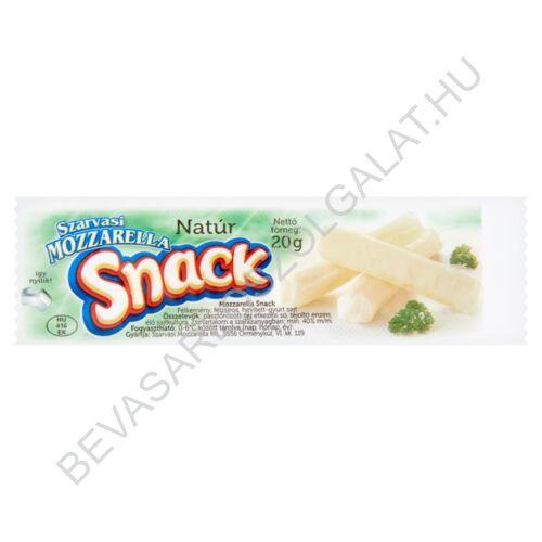 Szarvasi natúr mozzarella snack 20 g