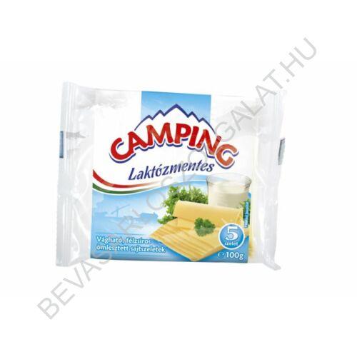 Camping Lapkasajt Laktózmentes 5 szelet 100 g