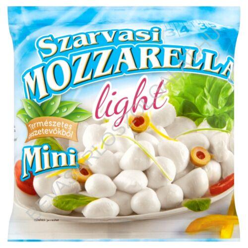 Szarvasi Mini Mozzarella Sajt Lében LIGHT 200/100 g