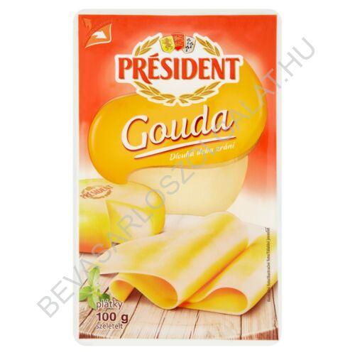 Président Szeletelt Sajt Gouda 100 g