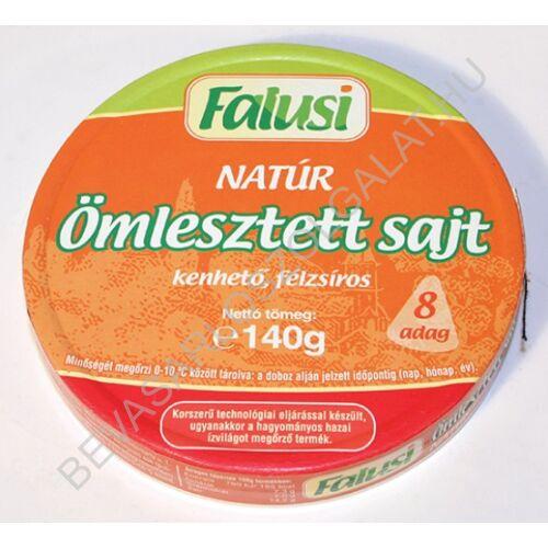 Falusi Ömlesztett Sajt Natúr Kördobozos 140 g (#24)