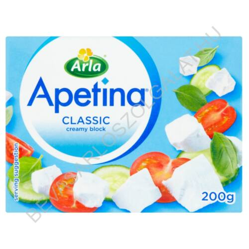Arla Apetina Classic Krémfehér Sajt tetra dobozos 200 g