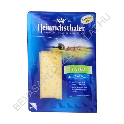Heinrichsthaler Laktózmentes Tilsiter Sajt szeletelt, védőgázas 150 g