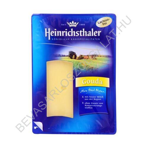 Heinrichsthaler Laktózmentes Gouda Sajt szeletelt, védőgázas 150 g