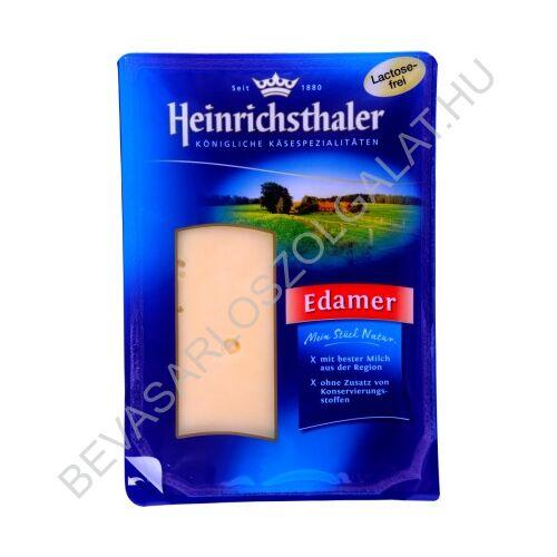 Heinrichsthaler Laktózmentes Edamer Sajt szeletelt, védőgázas 150 g