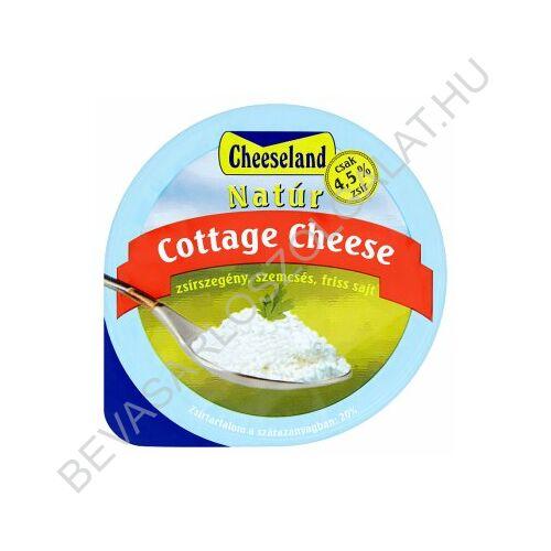 Cheeseland Cottage Cheese Sajt Natúr 150 g