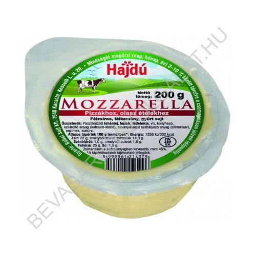 Hajdú Mozzarella Sajt Natúr 200 g