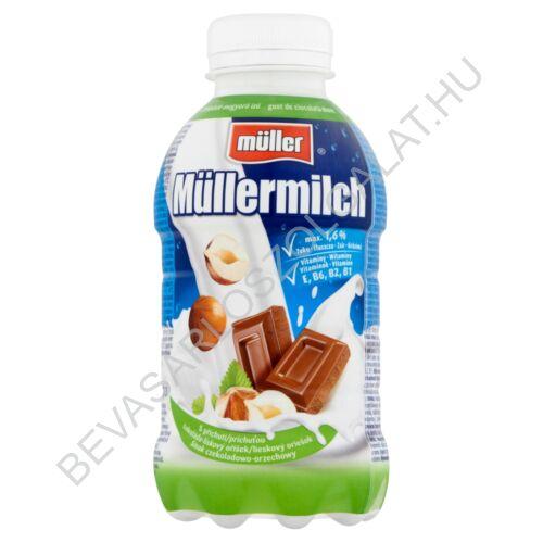 Müller Müllermilch Tejital Csokoládé - Mogyoró 377 ml