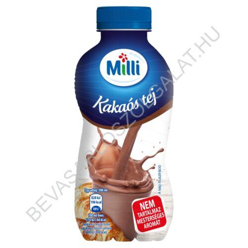 Milli Kakaós Tej 1,5% UHT PET 300 ml (#12)