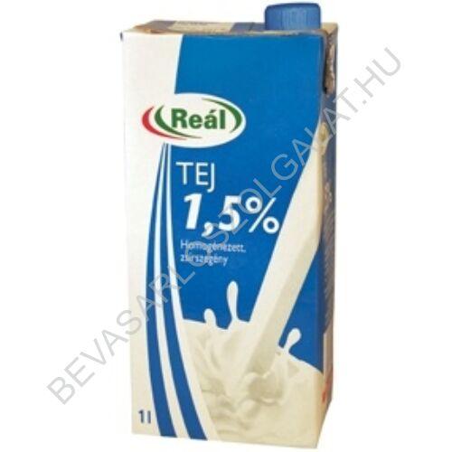 Reál Tartós Tej 1,5% UHT kupakos 1 l (#12) (Sole)