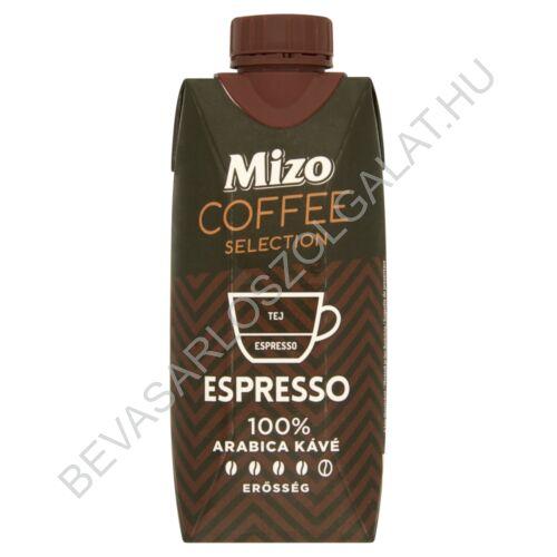Mizo Coffee Selection Espresso Zsírszegény Kávés Tej UHT 330 ml (#15)