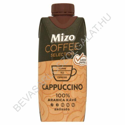 Mizo Coffee Selection Cappuccino Laktózmentes Félzsíros Kávés Tej UHT 330 ml (#15)