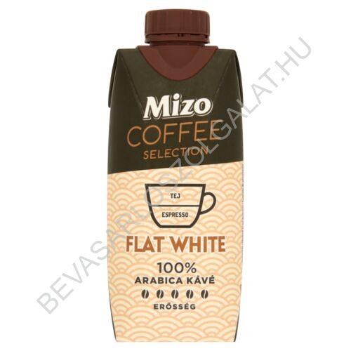 Mizo Coffee Selection Flat White Félzsíros Kávés Tej UHT 330 ml (#15)