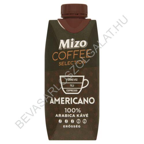 Mizo Coffee Selection Americano Zsírszegény Kávés Tej UHT 330 ml (#15)