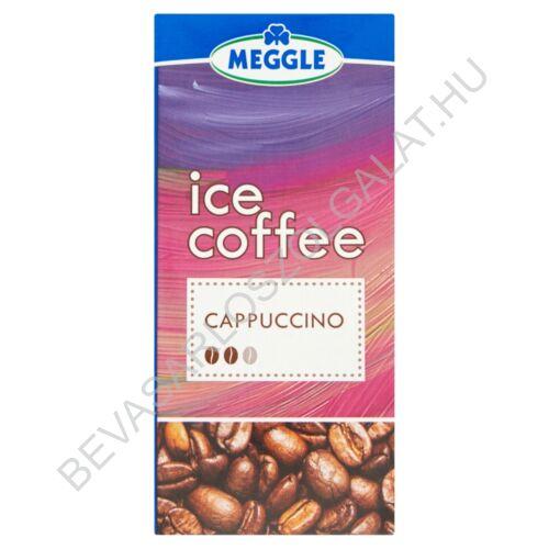 Meggle Ice Coffe Cappuccino Zsírszegény Kávés Tejkészítmény UHT 330 ml (#15)