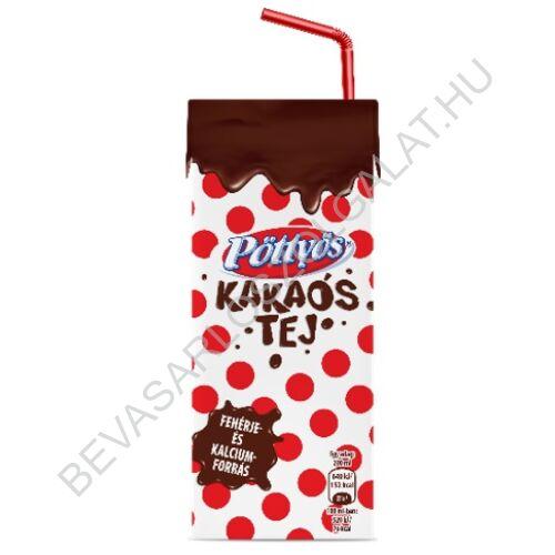 Pöttyös Kakaós Tej UHT szívószálas 200 ml (#15)