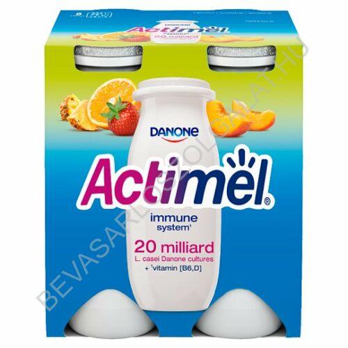 Danone Actimel Joghurtital Vegyes Gyümölcs (Multifruit) 4x100 g=400 g (#6)